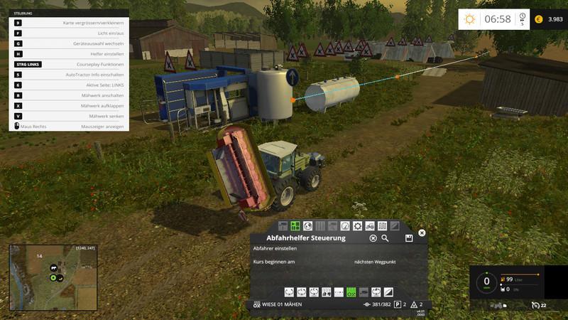 COURSEPLAY TWO RIVERS V2 2 • Farming simulator 19, 17, 15