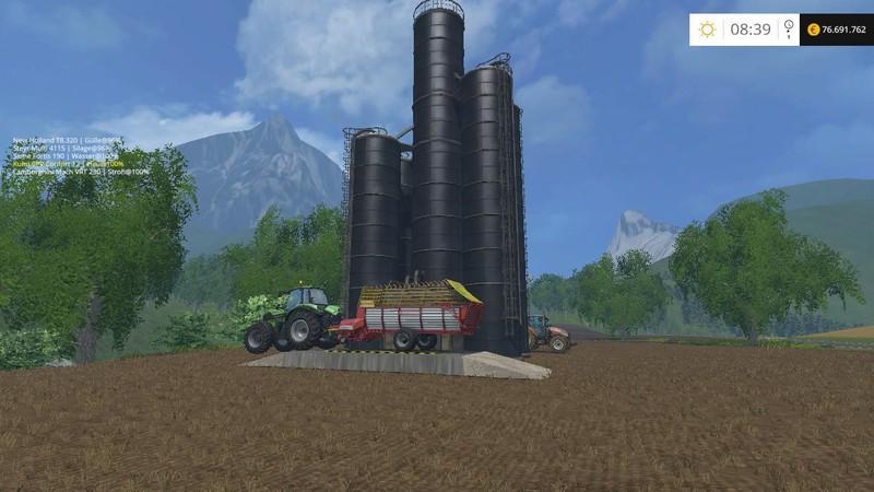 SILAGE SILO V1 1 • Farming simulator 19, 17, 15 mods | FS19