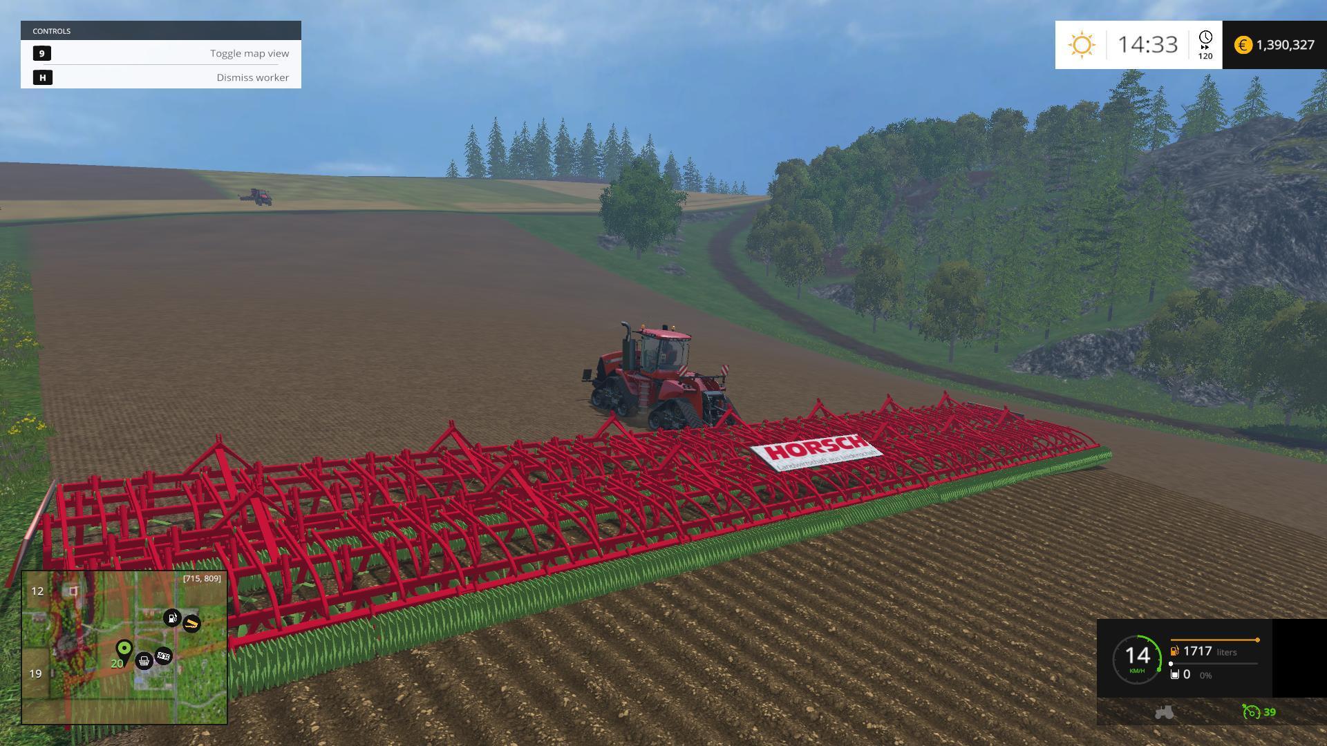 HORSCH GRUBBER 50M CULTIVATOR / PLOW • Farming simulator 19