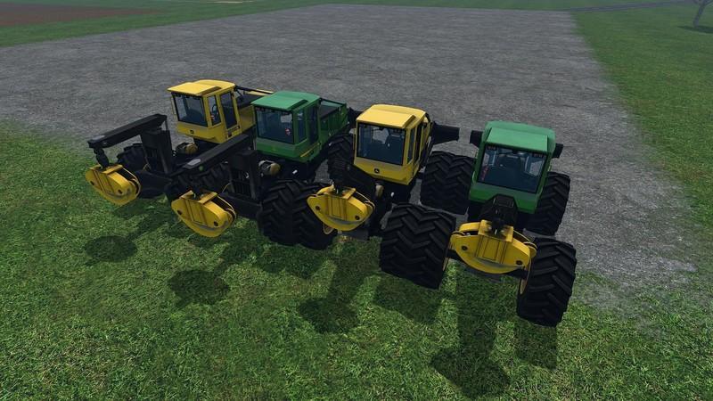 JOHN DEERE SKIDDER MOD-PACK V1 1 • Farming simulator 19, 17