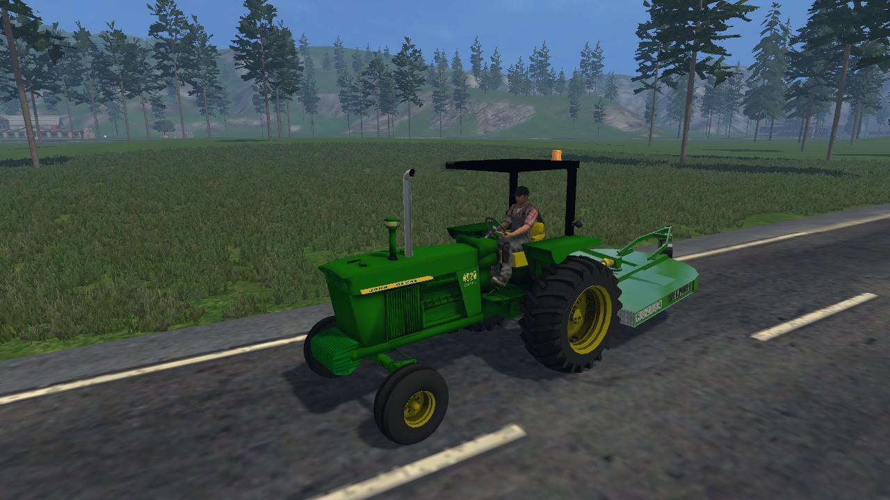 JOHN DEERE 4020 DIESEL • Farming simulator 19, 17, 15 mods | FS19