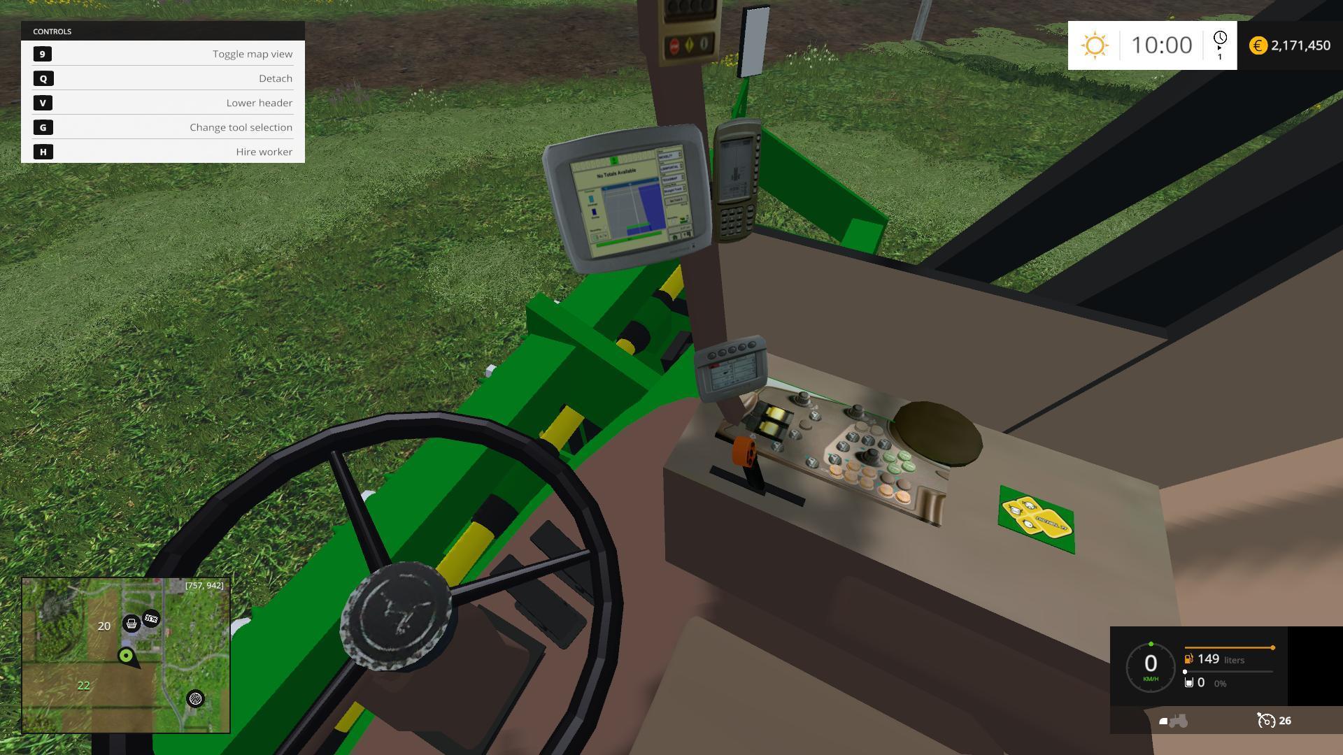 JOHN DEERE 7760 COTTON PICKER V1 0 • Farming simulator 19