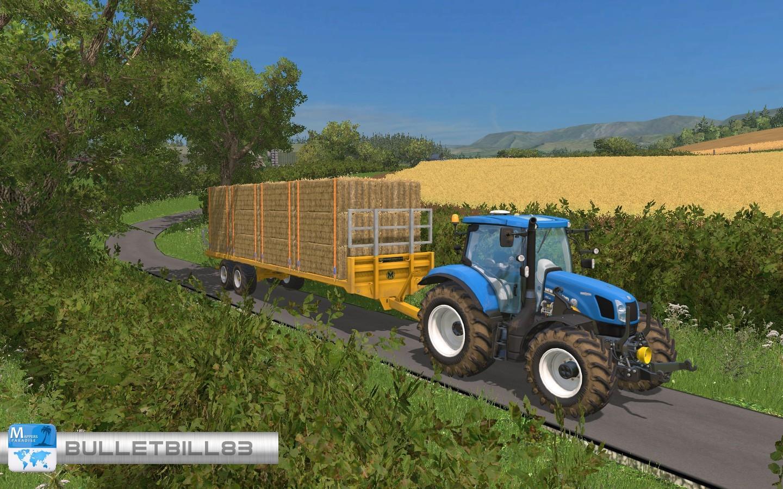 MARSHALL BALE TRAILER PACK • Farming simulator 19, 17, 15 mods