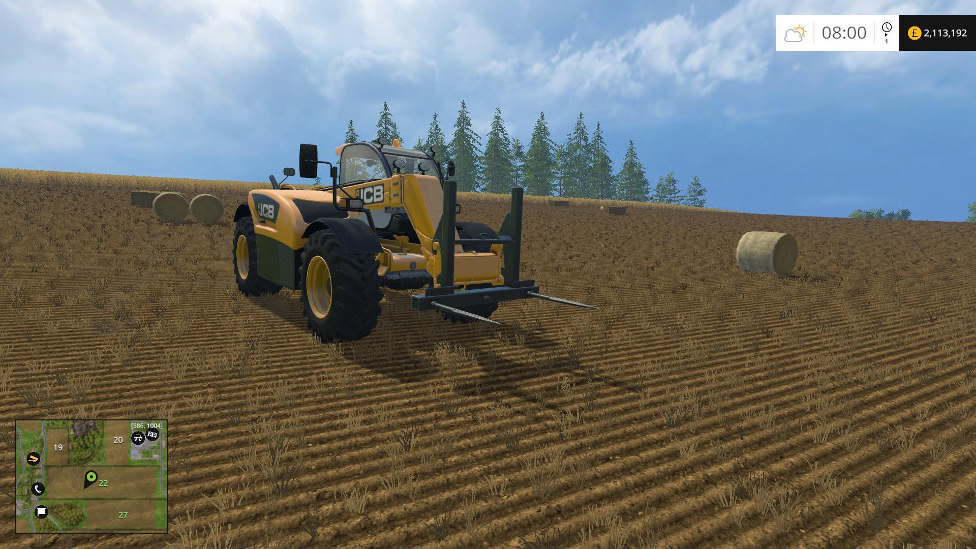 DOUBLE BALE SPIKE • Farming simulator 19, 17, 15 mods | FS19