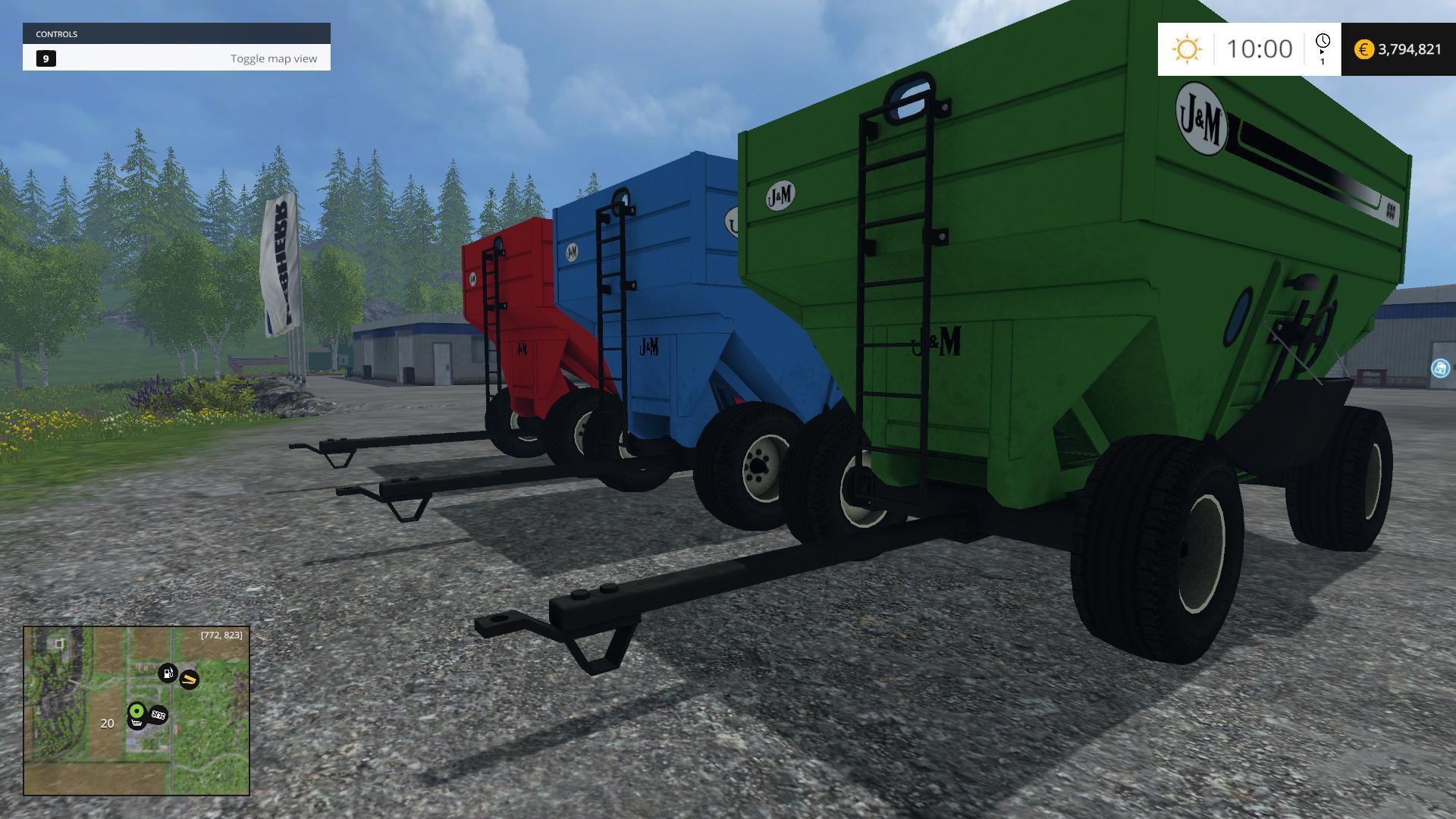 WAGONS Archives • Farming simulator 19, 17, 15 mods | FS19