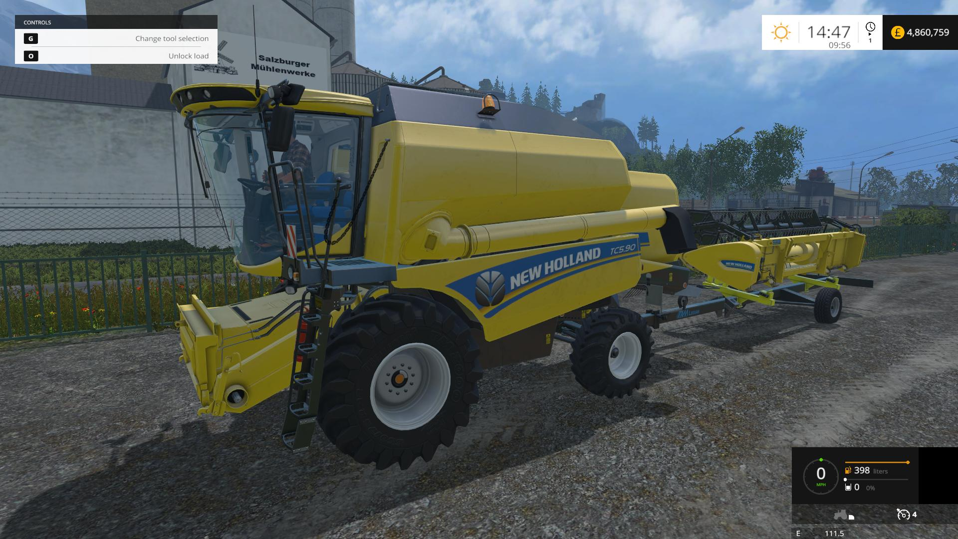 THURINGER AGRAR HEADER TRAILERS WITH LOCKING SCRIPT V1 1