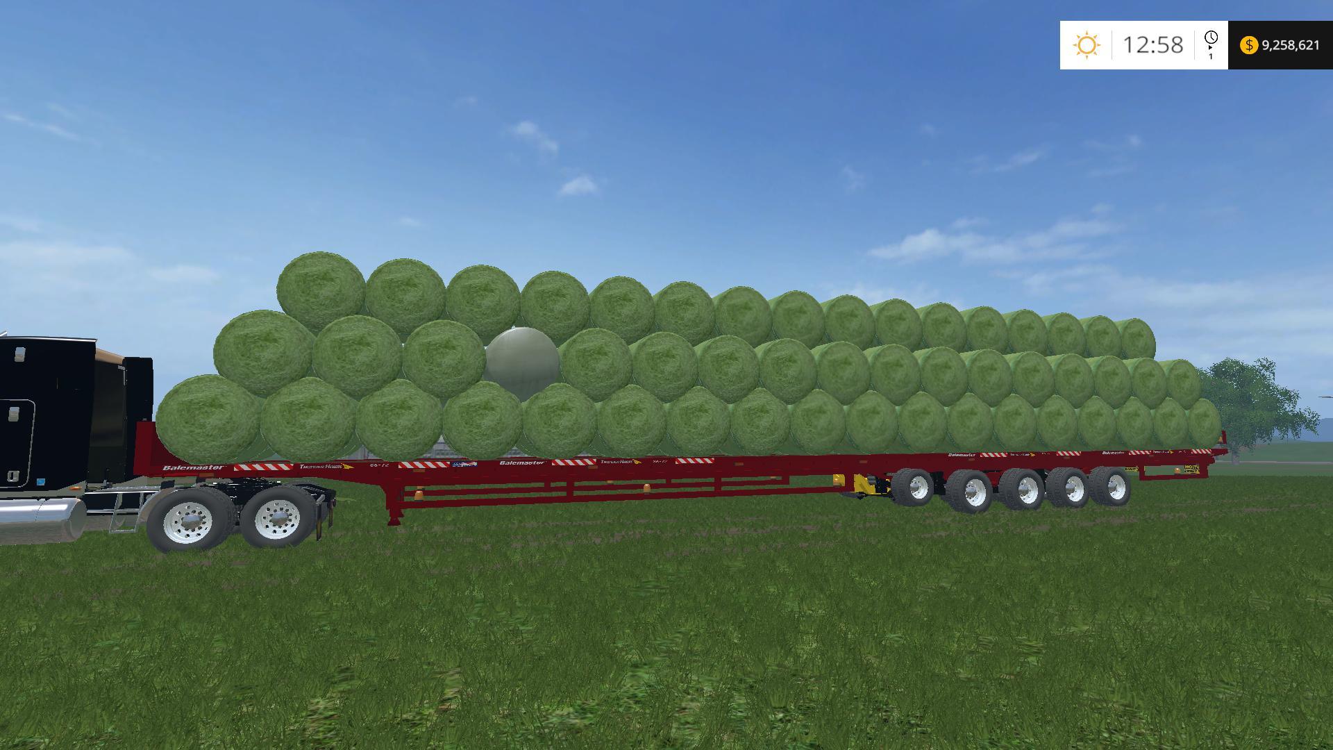 THUNDERHAWK BALEMASTER 86-72 V1 • Farming simulator 19, 17, 15 mods