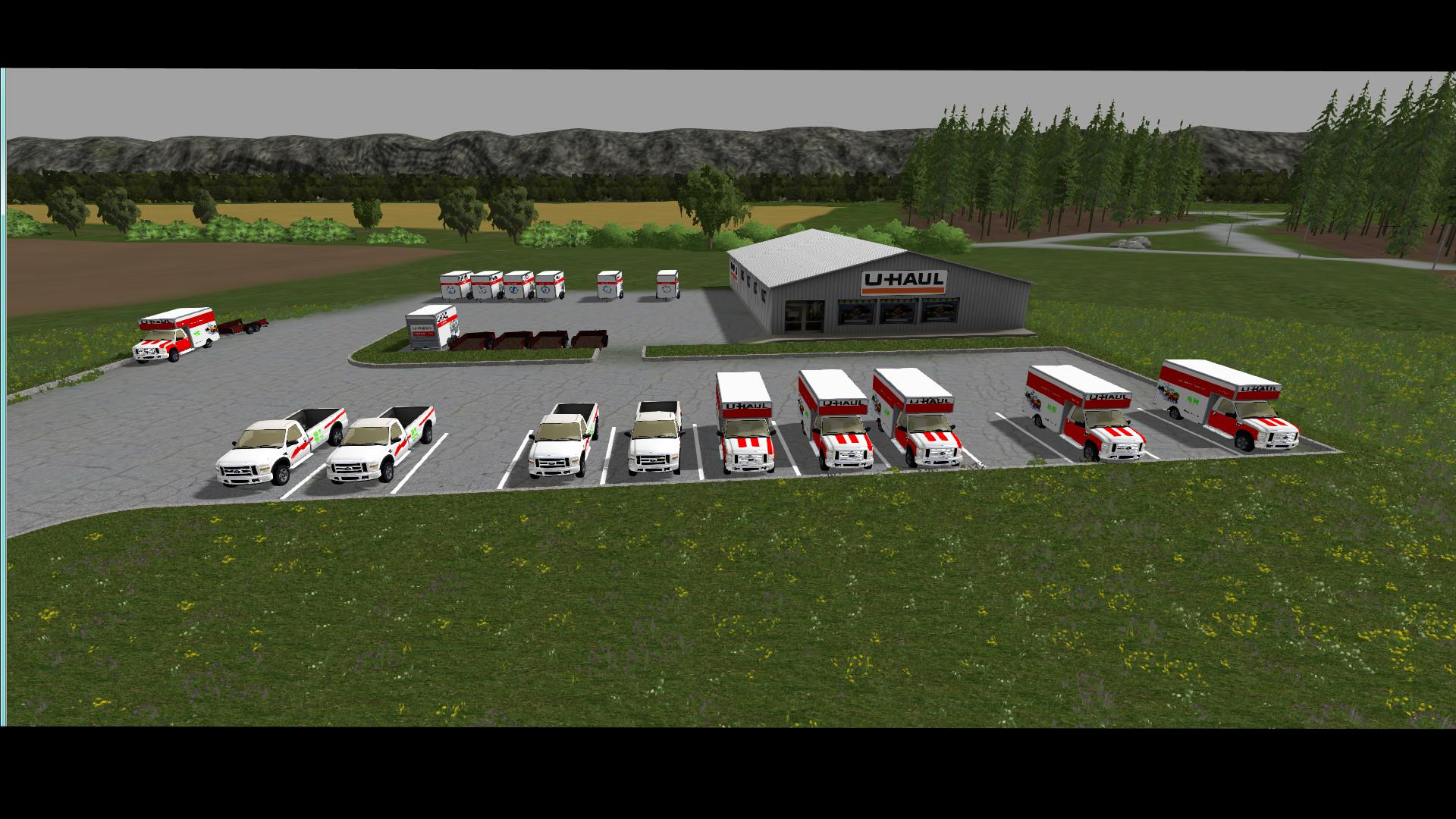 CSI DEERFIELD MAP V1 - Farming simulator 19 / 17 / 15 Mod
