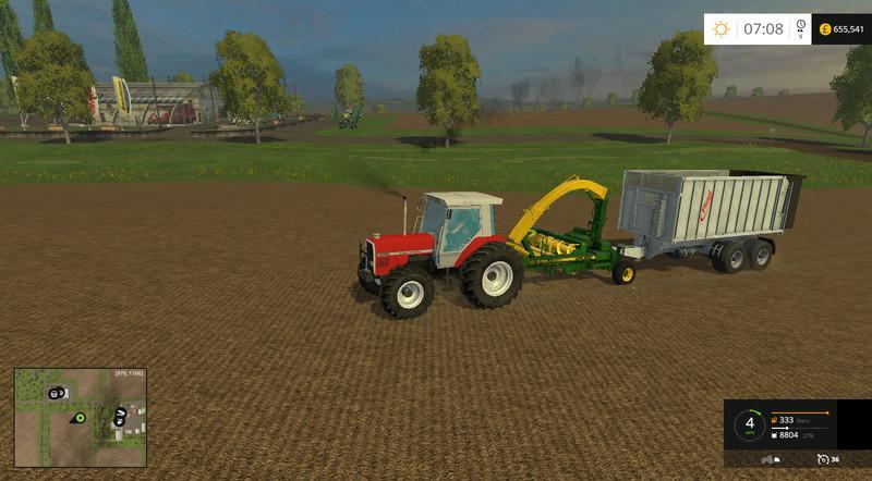 JD 3765 TRAILED FORAGE HARVESTER V2 0 • Farming simulator 19