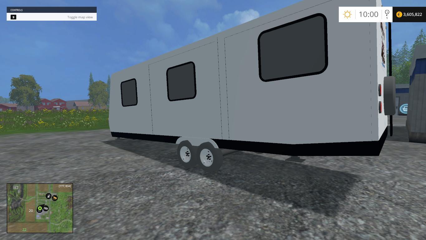 CAMPER V3 0 • Farming simulator 19, 17, 15 mods | FS19, 17