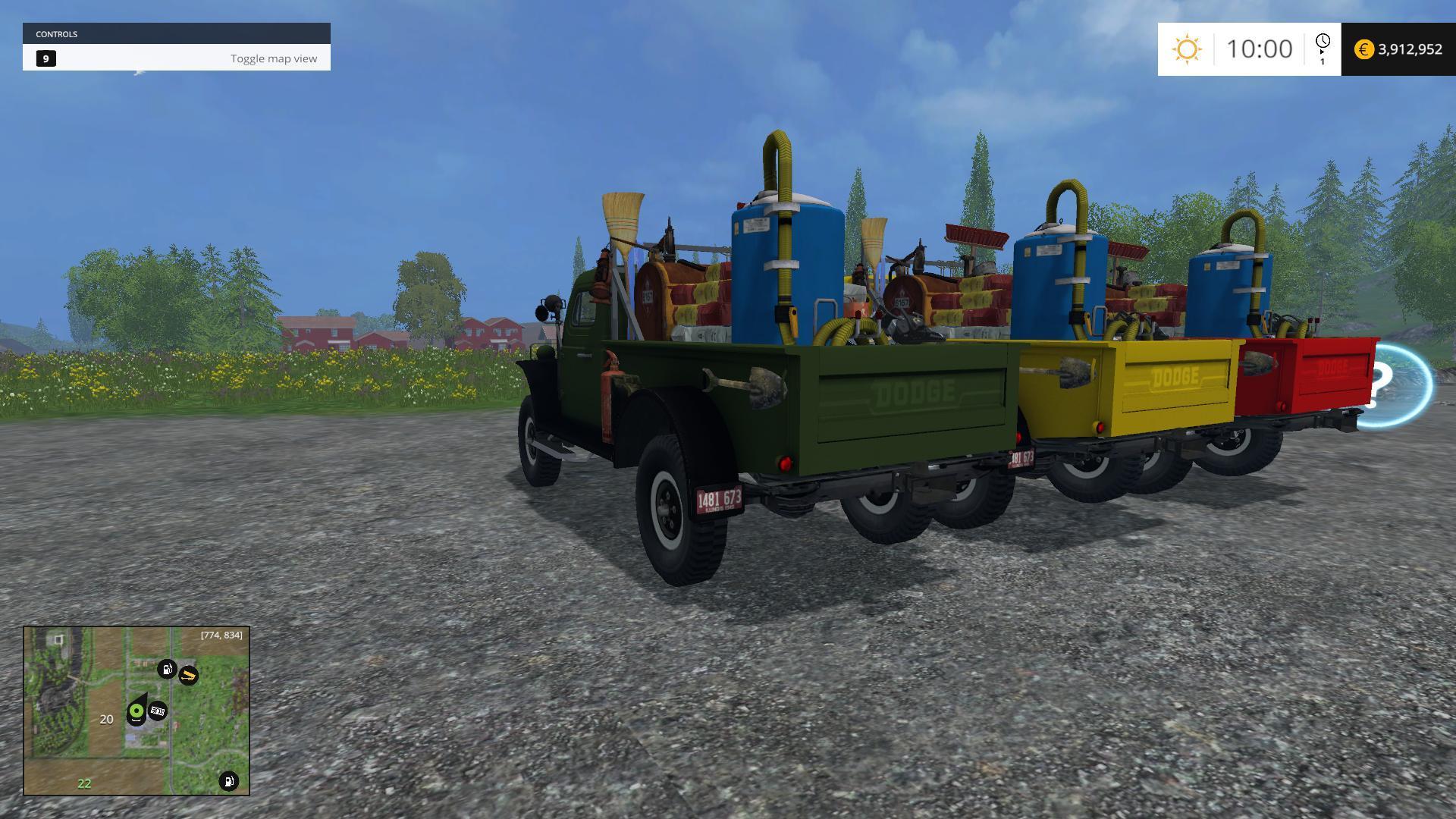DODGE WM 300 SERVICE TRUCK MULTICOLOR V1 0 • Farming