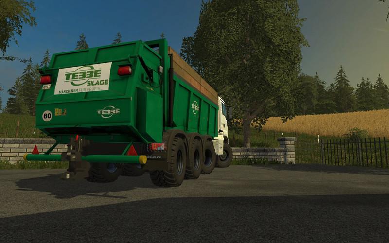 MAN TGS 18 480 8X8 TEBBE V1 0 • Farming simulator 19, 17, 15