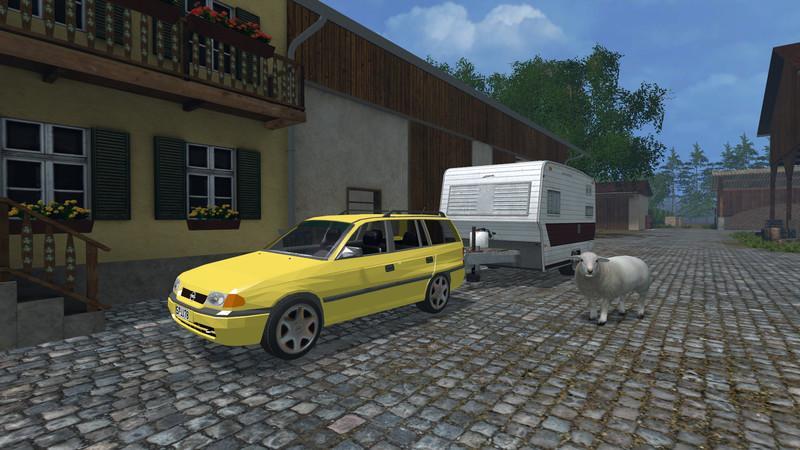 OPEL ASTRA F CARAVAN 1 7 TD CLUB V2 0 • Farming simulator 19, 17, 15