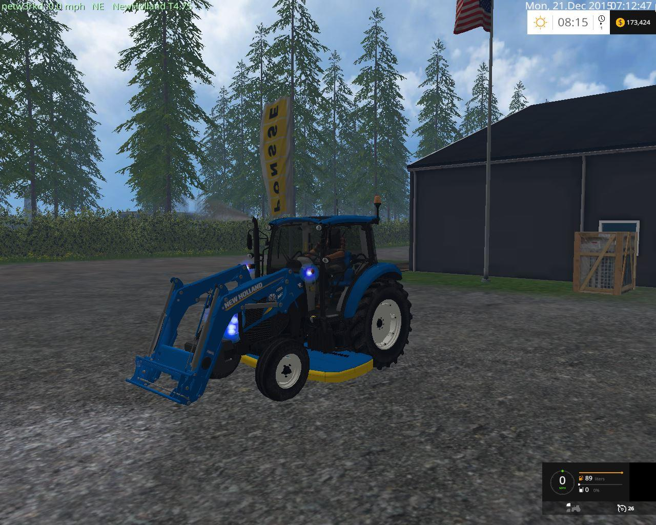 NEW HOLLAND 74 65 2WD V2 • Farming simulator 19, 17, 15 mods