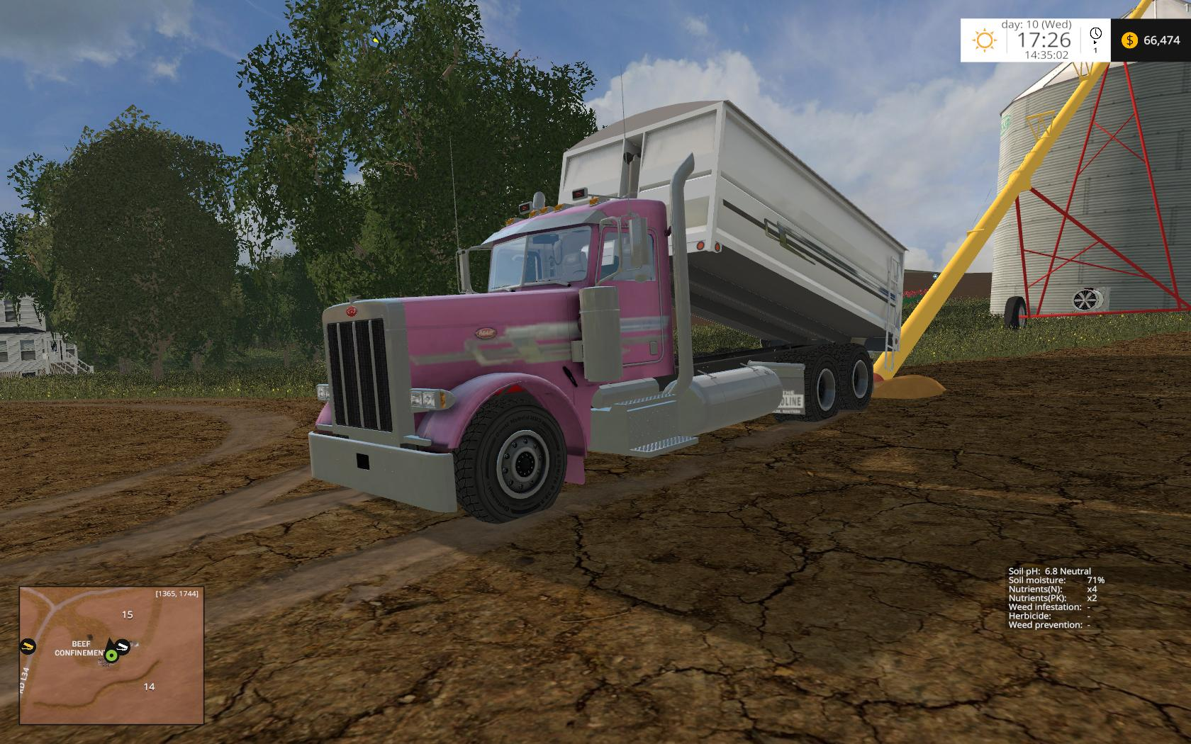 PETERBILT 379 GRAIN TRUCK V1 0 • Farming simulator 19, 17