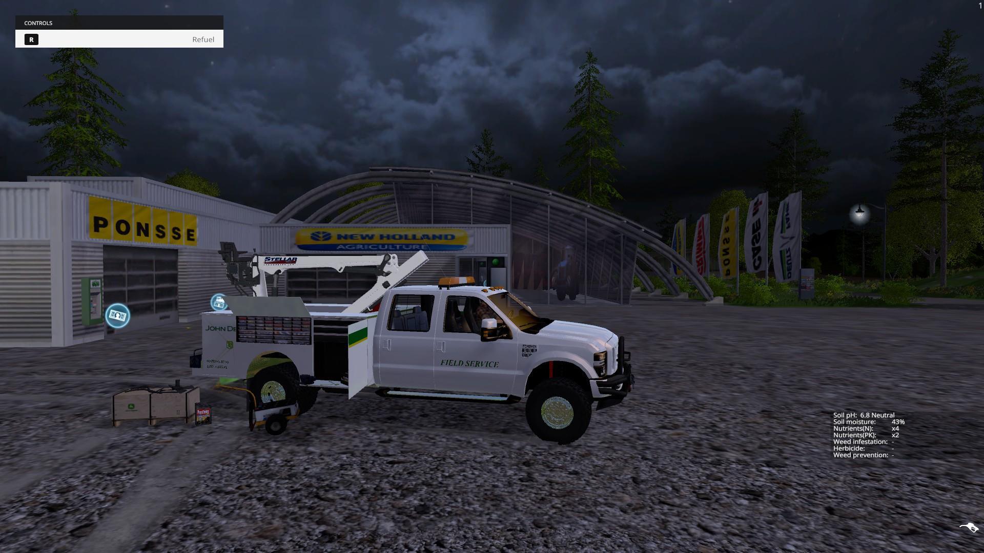 JOHN DEERE REPAIR TRUCK V3 0 • Farming simulator 19, 17, 15