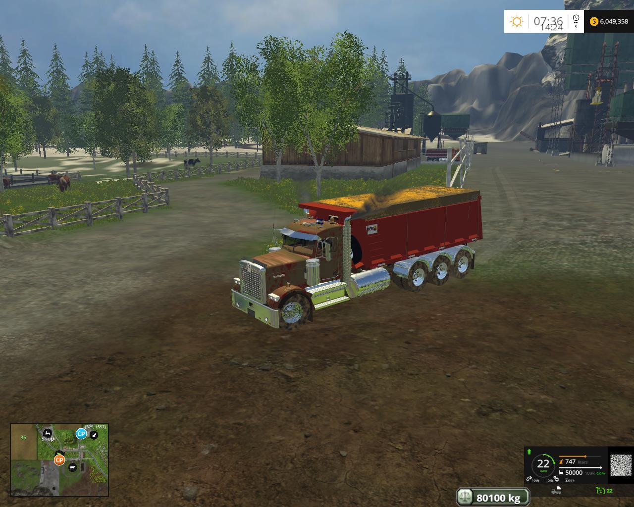 VOLQUETE V1 • Farming simulator 19, 17, 15 mods | FS19, 17, 15 mods