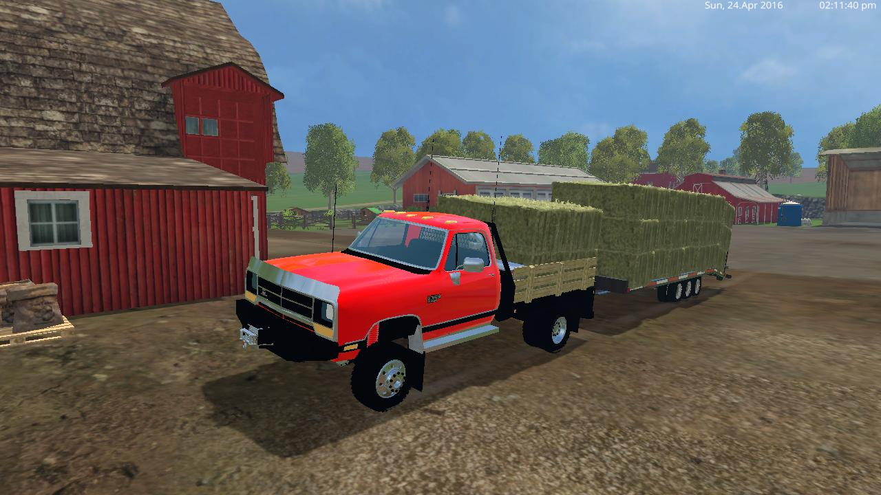 Dodge D250 Flatbed Dually V1 0 Farming Simulator 19 17 15 Mods Fs19 17 15 Mods