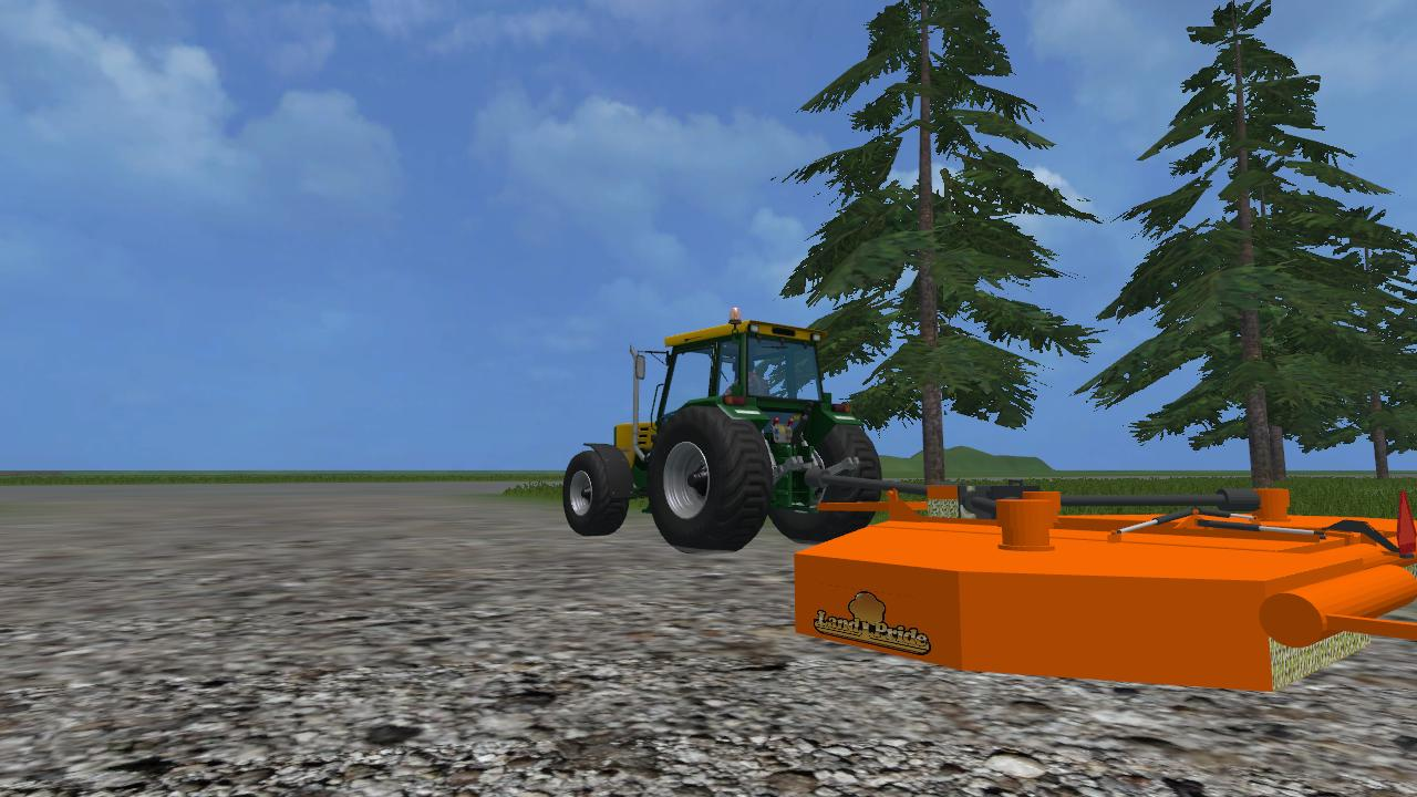 LAND PRIDE BATWING MOWER V2 • Farming simulator 19, 17, 15 mods