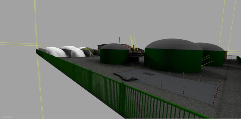 BIOGAS PLANT V1 0 • Farming simulator 19, 17, 15 mods   FS19, 17, 15