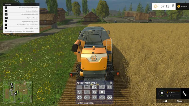 AUTOCOMBINE V4 1 • Farming simulator 19, 17, 15 mods | FS19