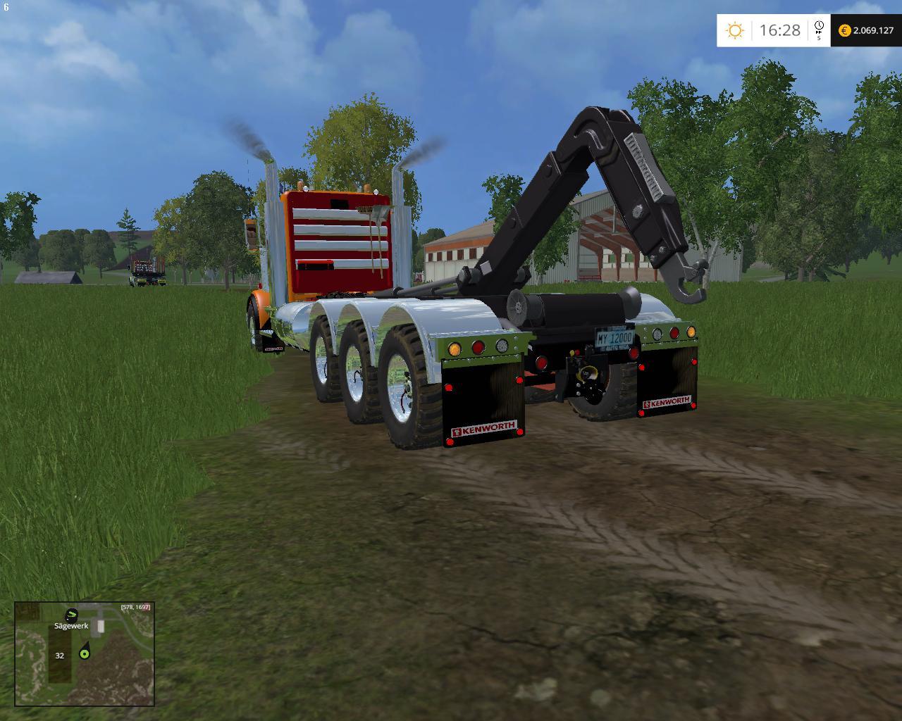 KENWORTH 900B MULTILIF V1 1 • Farming simulator 19, 17, 15