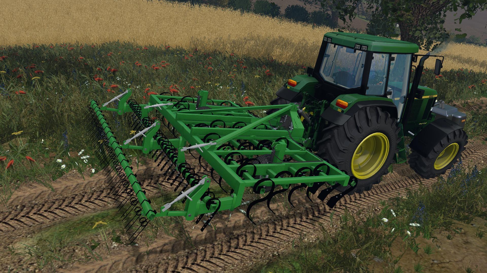 LAUMETRIS SUSPENDED CULTIVATOR KLL-4 V1 • Farming simulator 19, 17