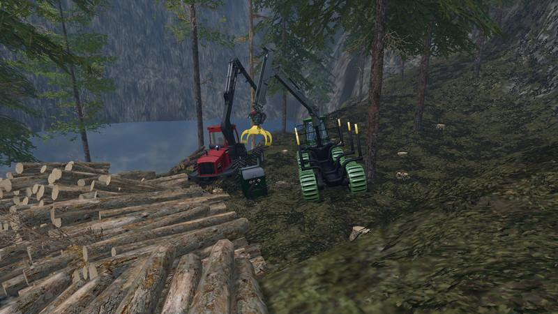 MOBILE 800L DIESEL TANK FOR THE FOREST V1 0 • Farming