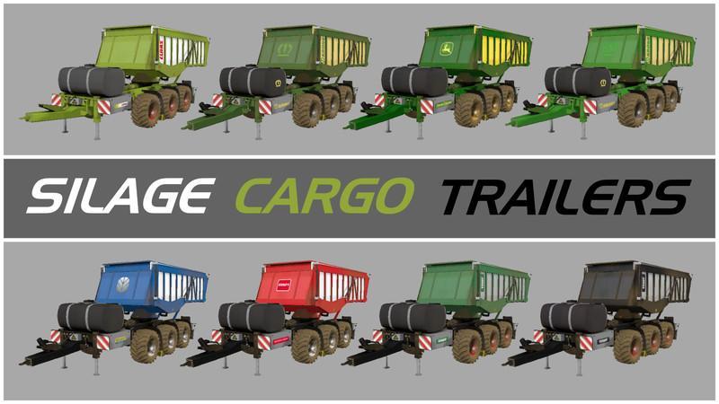 SILAGE CARGO TRAILERS V3 1 FINAL • Farming simulator 19, 17