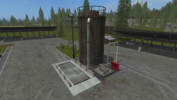FS17 FERMENTER 5000 - (FERMENTING SILO) V1 0 • Farming simulator 19