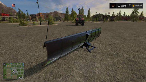 FS17 BOSS XL SNOW PLOW V1 0 • Farming simulator 19, 17, 15