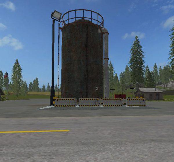 FS17 FERMENTINGSILO FS17 PLACEABLE V1 2 • Farming simulator