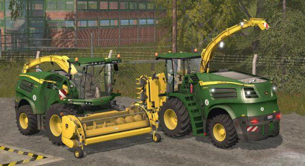 Fs19 Forage Harvester Mod
