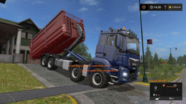 FS17 MAN TGS 8X8 WITH HVAC V1 0 • Farming simulator 19, 17