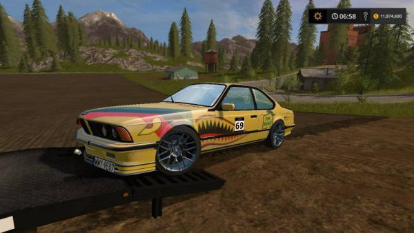 FS17 CONVERTED BMW V1 • Farming simulator 19, 17, 15 mods   FS19, 17