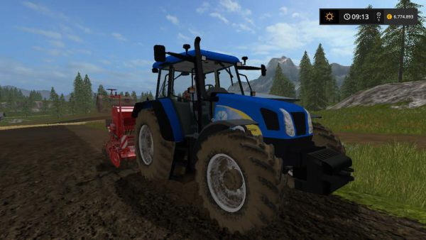 FS17 NEW HOLLAND T5050 V1 0 • Farming simulator 19, 17, 15 mods