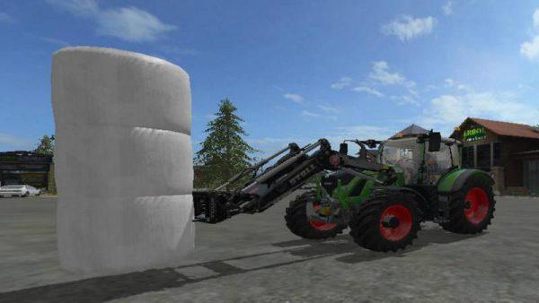 FS17 AUTOLOAD BALE SPIKE 6 HIGH FRONTLOADER V1 0 • Farming