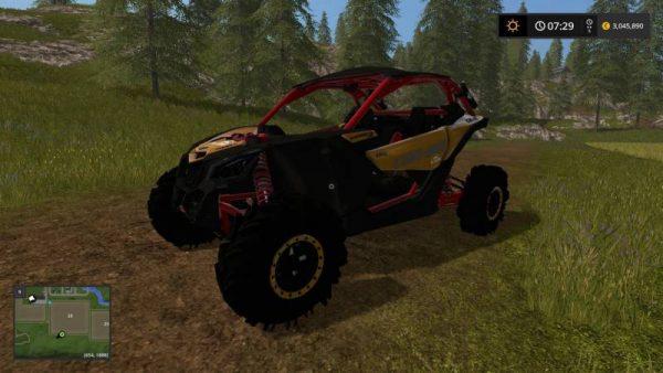 FS17 CANAM MAVRIC SQUAD EDITION V3 0 • Farming simulator 19