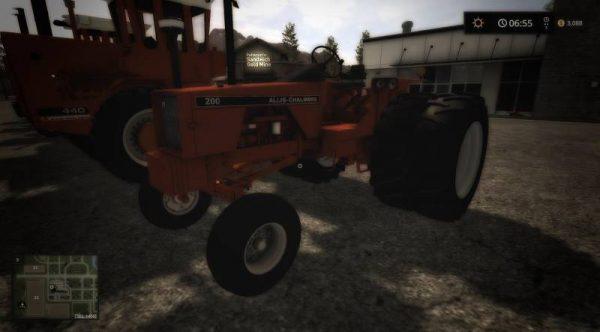 FS17 ALLIS CHALMERS 200 V1 0 • Farming simulator 19, 17, 15 mods