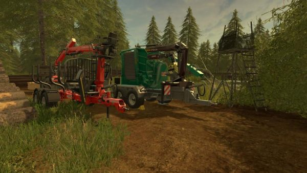 FS17 FORESTRY EQUIPMENT WITH DYNAMIC HOSES V1 0 • Farming