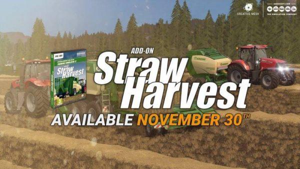 FS17 ADD-ON STRAW HARVEST V1 0 • Farming simulator 19, 17