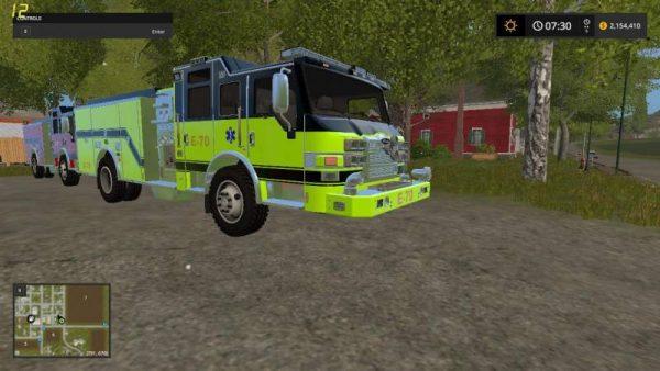 FS17 GOLDCREST AIRPORT FIRE V1 0 • Farming simulator 19, 17