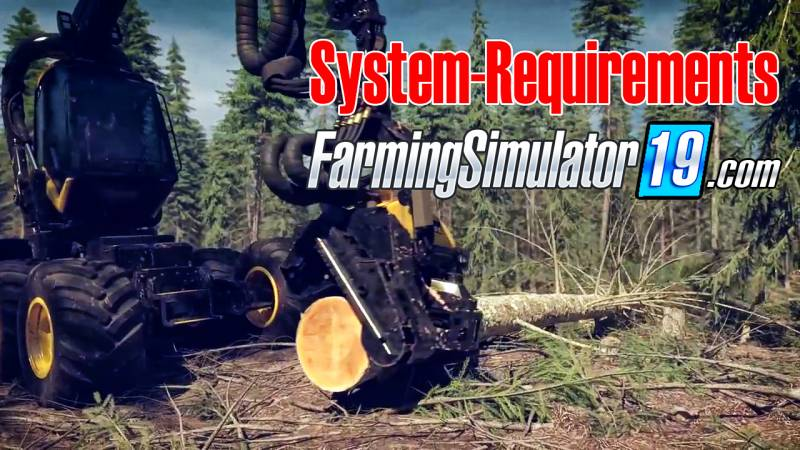 Farming simulator 19 game system Requirements • Farming simulator 19