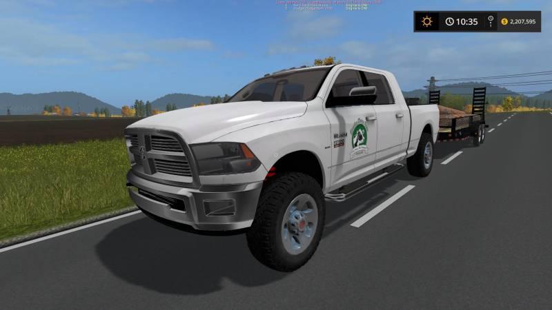 DODGE RAM 2500 V1 0 • Farming simulator 19, 17, 15 mods