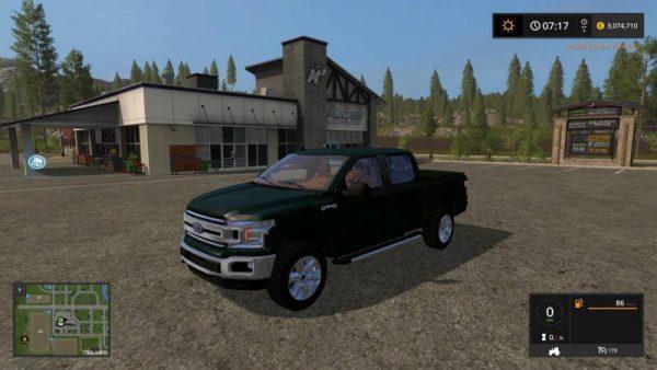 FS17 2018 FORD F150 V1 0 0 0 • Farming simulator 19, 17, 15