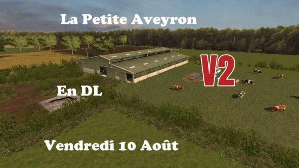 fs17 la petite aveyron v2 0 farming simulator 19 17 15 mods fs19 17 15 mods. Black Bedroom Furniture Sets. Home Design Ideas