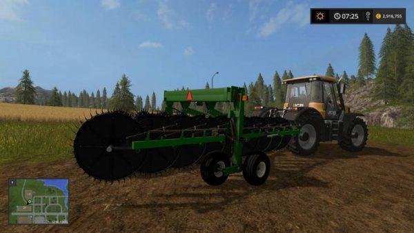 FS17 FRONTIER WR5417 HAY RAKE V1 0 • Farming simulator 19