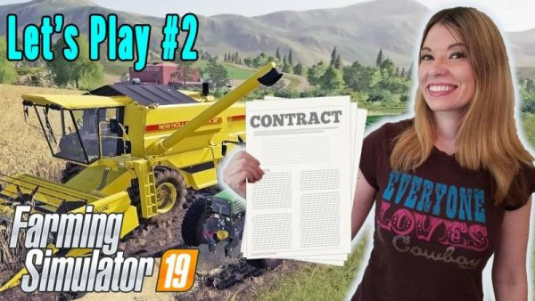 FS19 DOG, CONTRACTS & NEW EQUIPMENT TIME - LS19 GAMEPLAY #2