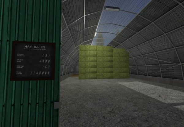 FS17 LARGE SQUARE/COTTON BALE STORAGE V1 0 1 0 • Farming simulator