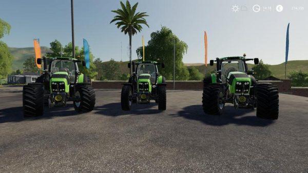 FS19 DEUTZ SERIES 7 V1 5 • Farming simulator 19, 17, 15 mods